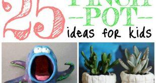 25 Pinch Pot Ideas For Kids