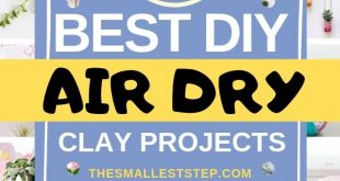 50 DIY Air Dry Clay Projects You'll Love