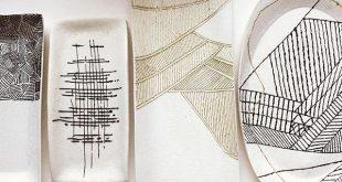Air dry clay handmade trays Ceramics - Porcelain - Home Decor - Home Design - Po...