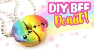 DIY BFF Rainbow Donut Charms! -Polymer Clay Tutorial | KAWAII FRIDAY - YouTube