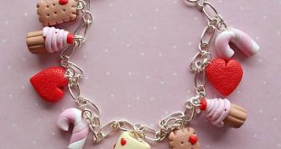 Handmade polymer clay Valentine's day gifts