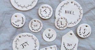 DIY Basteln für Weihnachten: Weihnachtliche Anhänger selbst gemacht