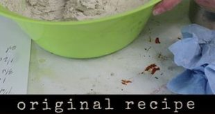This is the original paper mache clay recipe, now used by thousands of people ar...