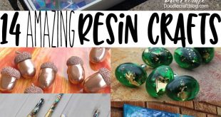 14 Amazing Resin Craft Projects!