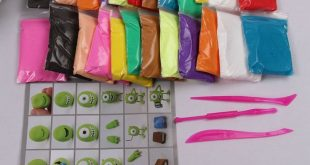 Colorful Air Dry Clay, 24 Colors Ultra Light Modeling Clay, Magic Clay DIY Toy#C...