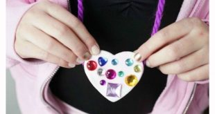Color Me Happy Heart Pendants with Hearty Air Dry Clay 2019 Kids will have a b...