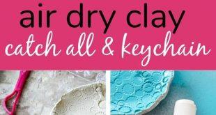 Father's Day Handmade Dish and DIY Keychain