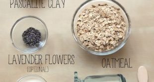 Lavender and Lemon Oatmeal Mud Mask Recipe