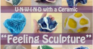 Unwind with a Ceramic 'Feeling Sculpture' Interesting concept. Looks ver...
