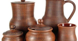 ceramics and dishes from red clay from the by EcoCeramicsUA
