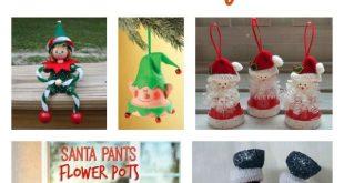 10+ Kreative Tontopf Weihnachten Handwerk Ideen