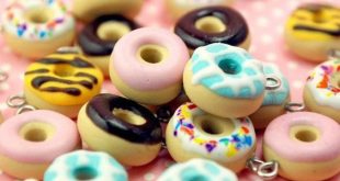 (12) Polymer clay donuts | sweet | Pinterest