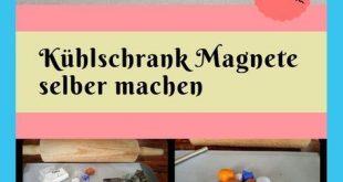DIY Magnete aus Fimo-ein tolles Geschenk mit Kindern basteln
