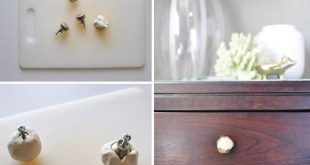 Air Dry Clay Projects 5 DIY Ideas 2019 These amazing air-dry clay knobs will ...