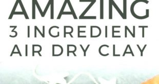 Air Dry Clay in 5 minutes  #crochet #amigurumi #crochetpattern #amigurumipattern...