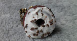 Chocolate Doughnut - Donut - Cute Kawaii Fashion - Handmade Jewelry - Sweets and Sprinkles - Polymer Clay Jewelry