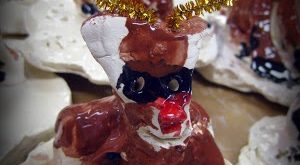 Clay projects for kids  Awesome reindeer project