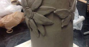 Coil construction, Intro to Ceramics. | High school Ceramic lessons | Pinterest ...