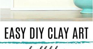 Easy DIY Clay Fish Art Modern Coastal Handmade Decor 2019 DIY Clay Art   Air ...