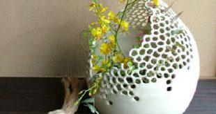 Filigrane Keramik von Emogayu... via Designchen