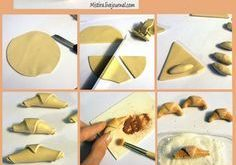 French Croissant tutorial in polyclay - the link no longer goes anywhere, but th...