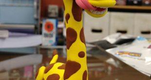 Girafa Jumping Clay