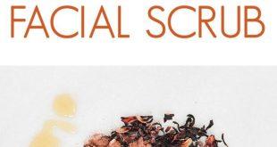 Hibiscus Honey Clay Facial Scrub - Stellen Sie Ihr eigenes Schönheitsrezept zusammen - #clay...