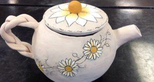 High School Advanced Ceramics hand constructed Tea Pot. 2019 High School Advan...