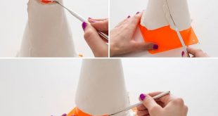 How to Make a Clay Pendant Lamp