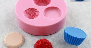 Kawaii Cupcake Schimmel Schimmel Harz fimo Wachs Schokolade Fondant (321)