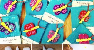 Kindergarten Model Magic Clay Butterflies for Mothers Day #youngschoolart #moth ...
