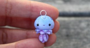 Little Jellyfish Charm 2019 Little Jellyfish Charm by TheLittleMew on Etsy Th...