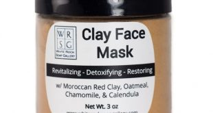 Moroccan Red Clay (Rhassoul) Clay Face Mask