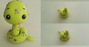 Schritt für Schritt - skulptierte süße Schlange (teil 2 von 2)   - Cake - #ca...