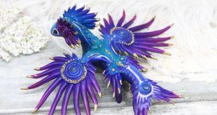 Sea Dragon Glaucus atlanticus miniatures by Evgeny Hontor