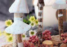 Zauberhafte Mini-Pilze - Herbst-Deko für ein stimmungsvolles Zuhause [Anzeige