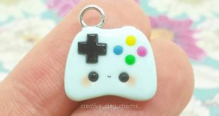 #kawaii #charms #polymer #clay #controller 🎮